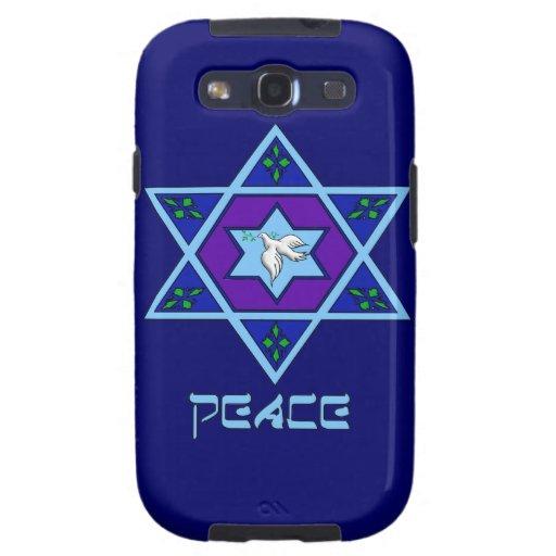 Hanukkah Peace Art Galaxy S3 Case