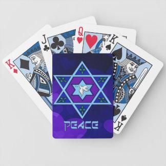 Hanukkah Peace Art Playing Cards