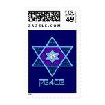 Hanukkah Peace Art Stamps