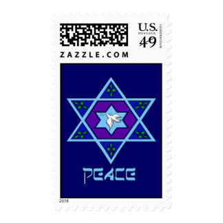 Hanukkah Peace Art Stamps