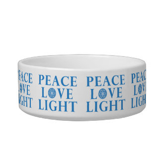 Hanukkah - Peace Love Light Bowl