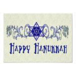 "Hanukkah Peace Star 5"" X 7"" Invitation Card"