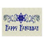 Hanukkah Peace Star Large Business Cards (Pack Of 100)