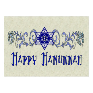 Hanukkah Peace Star Business Cards