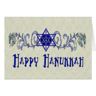Hanukkah Peace Star Greeting Cards