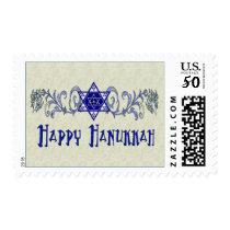 Hanukkah Peace Star Postage