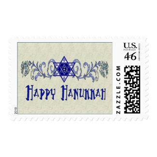 Hanukkah Peace Star Postage Stamp