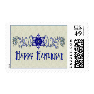 Hanukkah Peace Star Postage at Zazzle