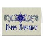 Hanukkah Peace Star Stationery Note Card