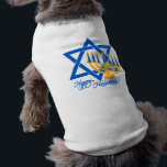 "Hanukkah pet clothing<br><div class=""desc"">Happy Hanukkah! See my store for more items with this print.</div>"
