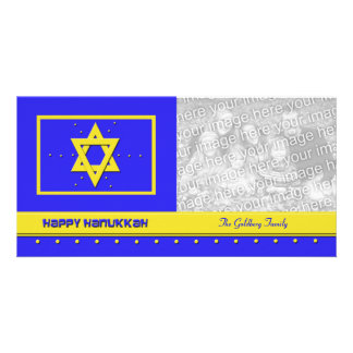 Hanukkah Photo Cards Happy Hanukkah Card