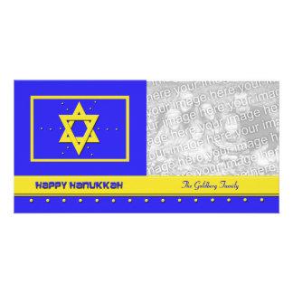 Hanukkah Photo Cards -- Happy Hanukkah Card