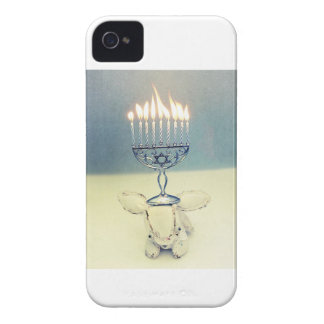 Hanukkah Photo Holiday Greeting Card Case-Mate iPhone 4 Case