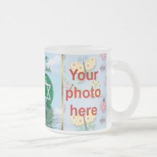 Hanukkah photo mug Festival of Llight
