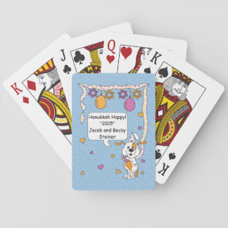 Hanukkah Playing Cards Standard Personalized