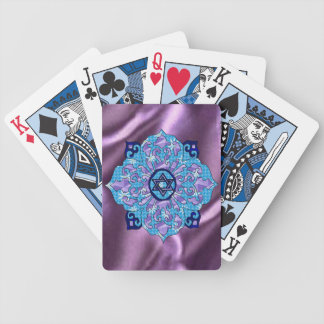 Hanukkah Bicycle Poker Cards