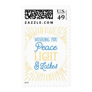 Hanukkah Postage at Zazzle