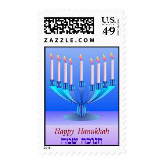 Hanukkah postage 1