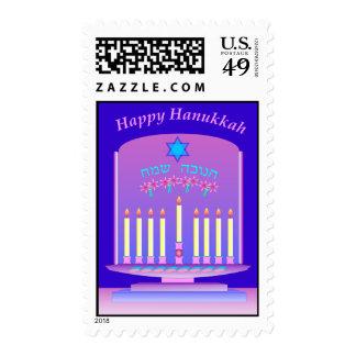 Hanukkah postage 3