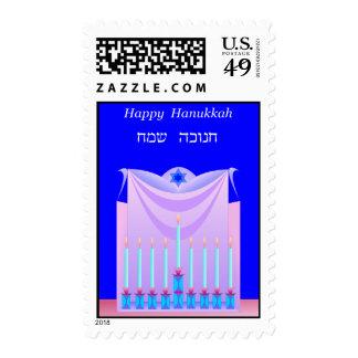 Hanukkah postage 5