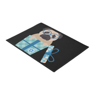 Hanukkah Pug Doormat