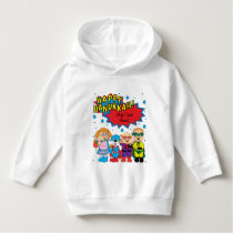"Hanukkah Pullover Toddler Sweatshirt ""Super Hero"""