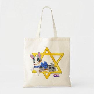 Hanukkah Pups Tote Bag