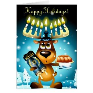 Hanukkah Reindeer