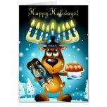 Hanukkah Reindeer Cards