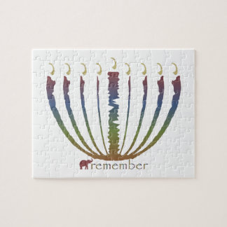 Hanukkah - remember jigsaw puzzle