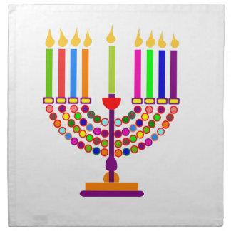 hanukkah servilletas de papel