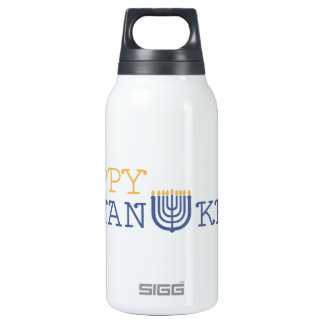 Hanukkah SIGG Thermo 0.3L Insulated Bottle