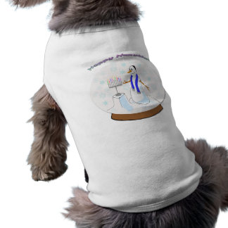 Hanukkah - Snow Globe Snowman Pet Clothing