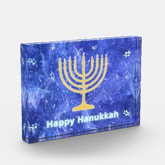 Hanukkah Snowstorm Menorah Award