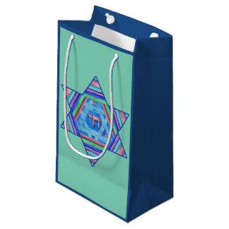 Hanukkah Star Blue Gift Bag