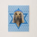 Hanukkah Star of David - Afghan Jigsaw Puzzles