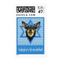 Hanukkah Star of David - Australian Kelpie Postage