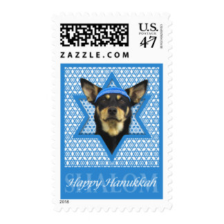 Hanukkah Star of David - Australian Kelpie Stamp