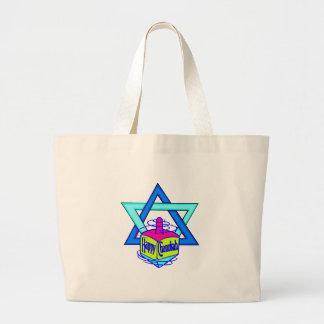Hanukkah Star of David Canvas Bag