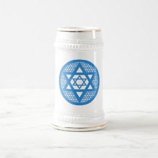 Hanukkah - Star of David Beer Stein