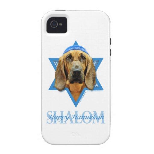 Hanukkah Star of David - Bloodhound iPhone 4 Cases