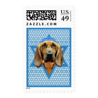 Hanukkah Star of David - Bloodhound Stamp