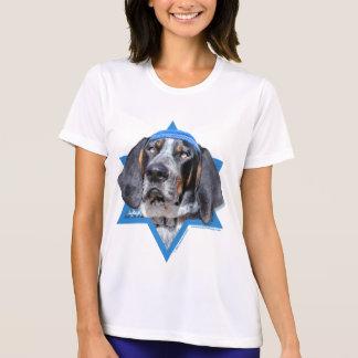 Hanukkah Star of David - Bluetick Coonhound Chuck T-Shirt