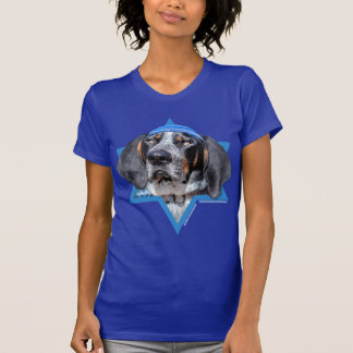 Hanukkah Star of David - Bluetick Coonhound Chuck Shirts