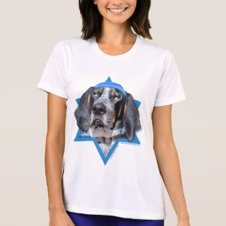 Hanukkah Star of David - Bluetick Coonhound Chuck T Shirt