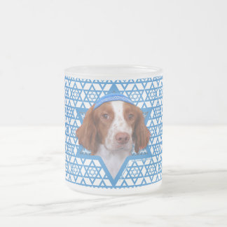 Hanukkah Star of David - Brittany - Charlie Frosted Glass Coffee Mug