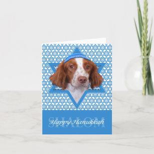 Hanukkah Star of David - Brittany - Charlie Holiday Card