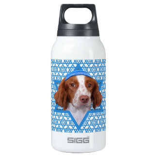 Hanukkah Star of David - Brittany - Charlie Insulated Water Bottle