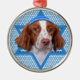 Hanukkah Star of David - Brittany - Charlie Metal Ornament