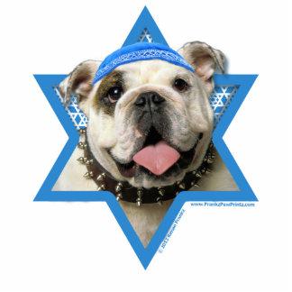 Hanukkah Star of David - Bulldog Photo Sculpture